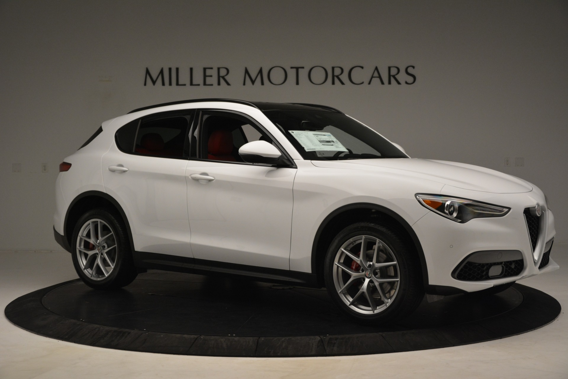 New 2019 Alfa Romeo Stelvio Ti Sport Q4 For Sale In Greenwich, CT 3173_p8
