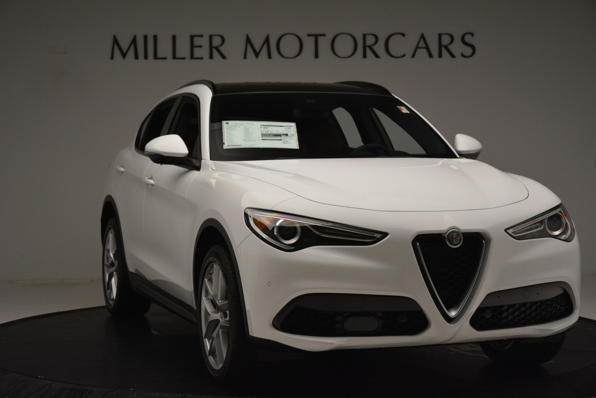 New 2019 Alfa Romeo Stelvio Ti Sport Q4 For Sale In Greenwich, CT 3173_p9