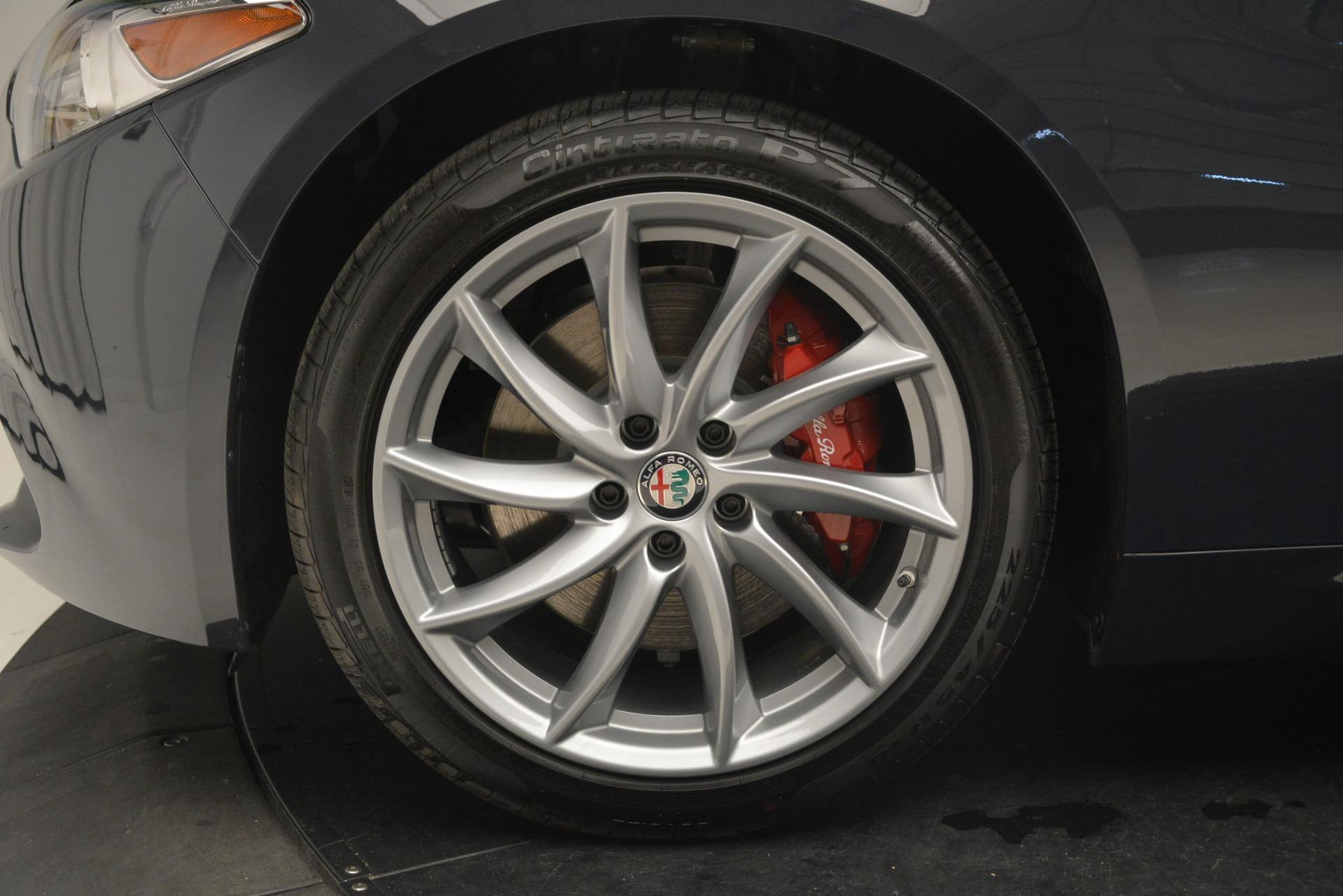 New 2019 Alfa Romeo Giulia Q4 For Sale In Greenwich, CT 3174_p30