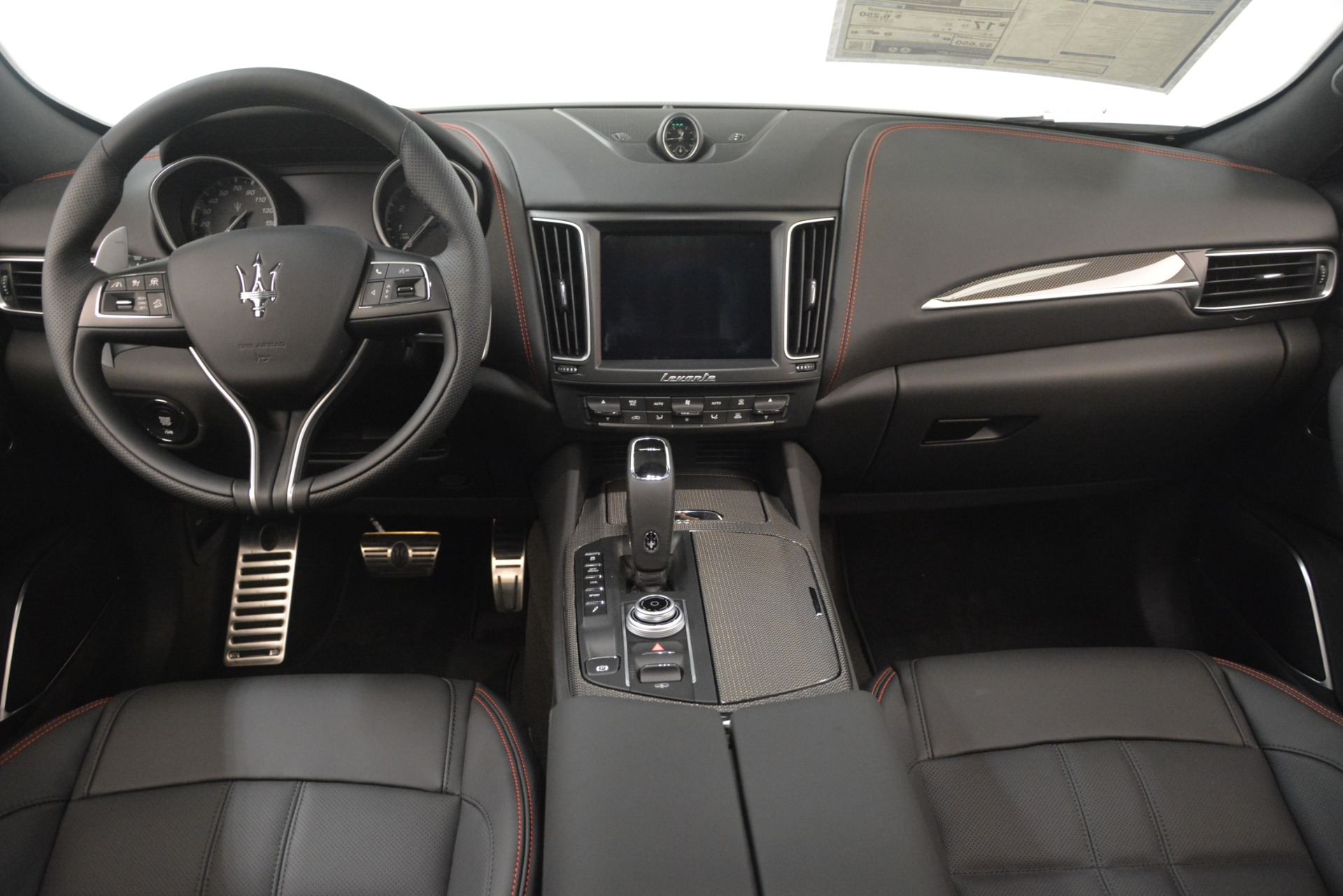 New 2019 Maserati Levante SQ4 GranSport Nerissimo For Sale In Greenwich, CT 3177_p16