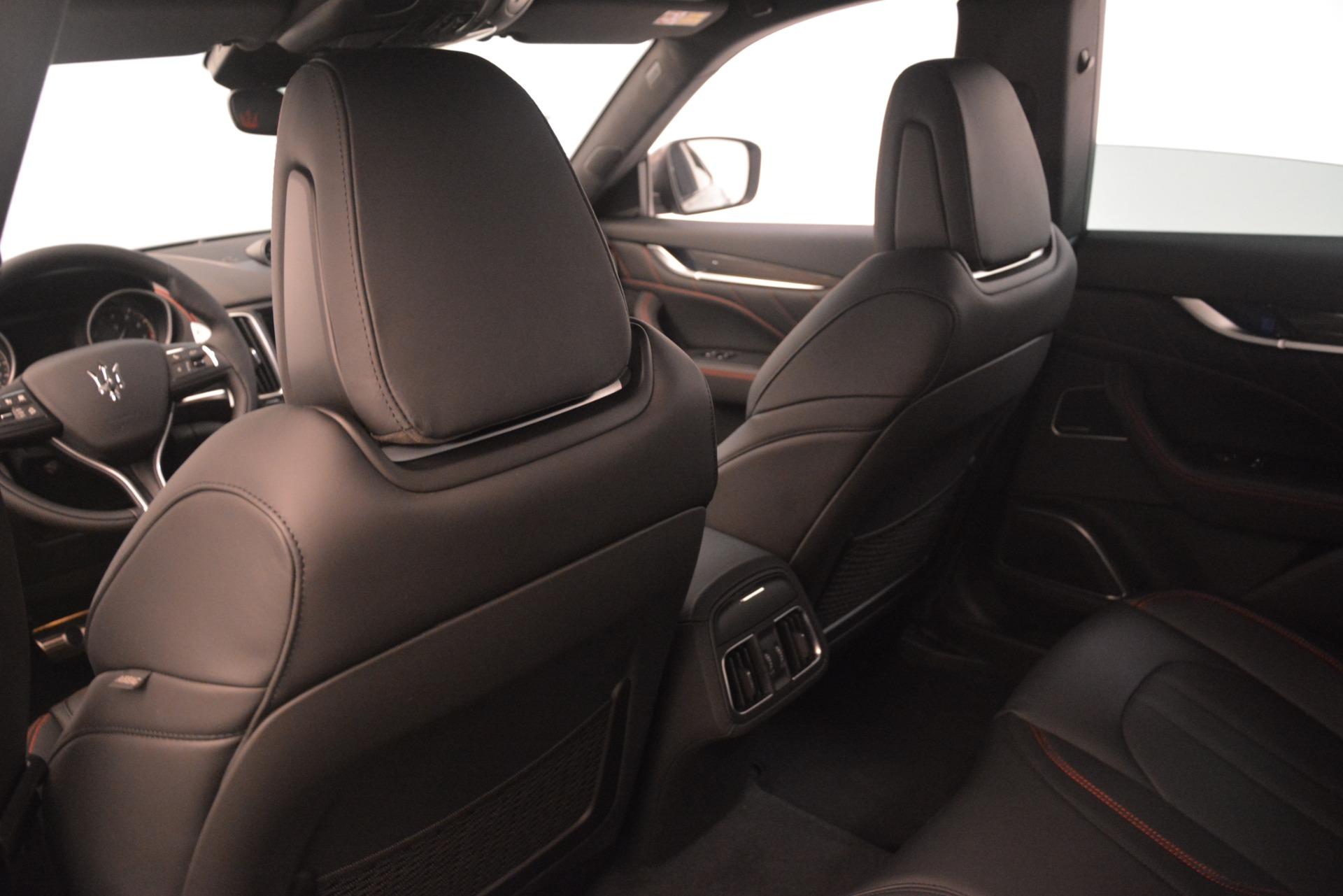 New 2019 Maserati Levante SQ4 GranSport Nerissimo For Sale In Greenwich, CT 3177_p18
