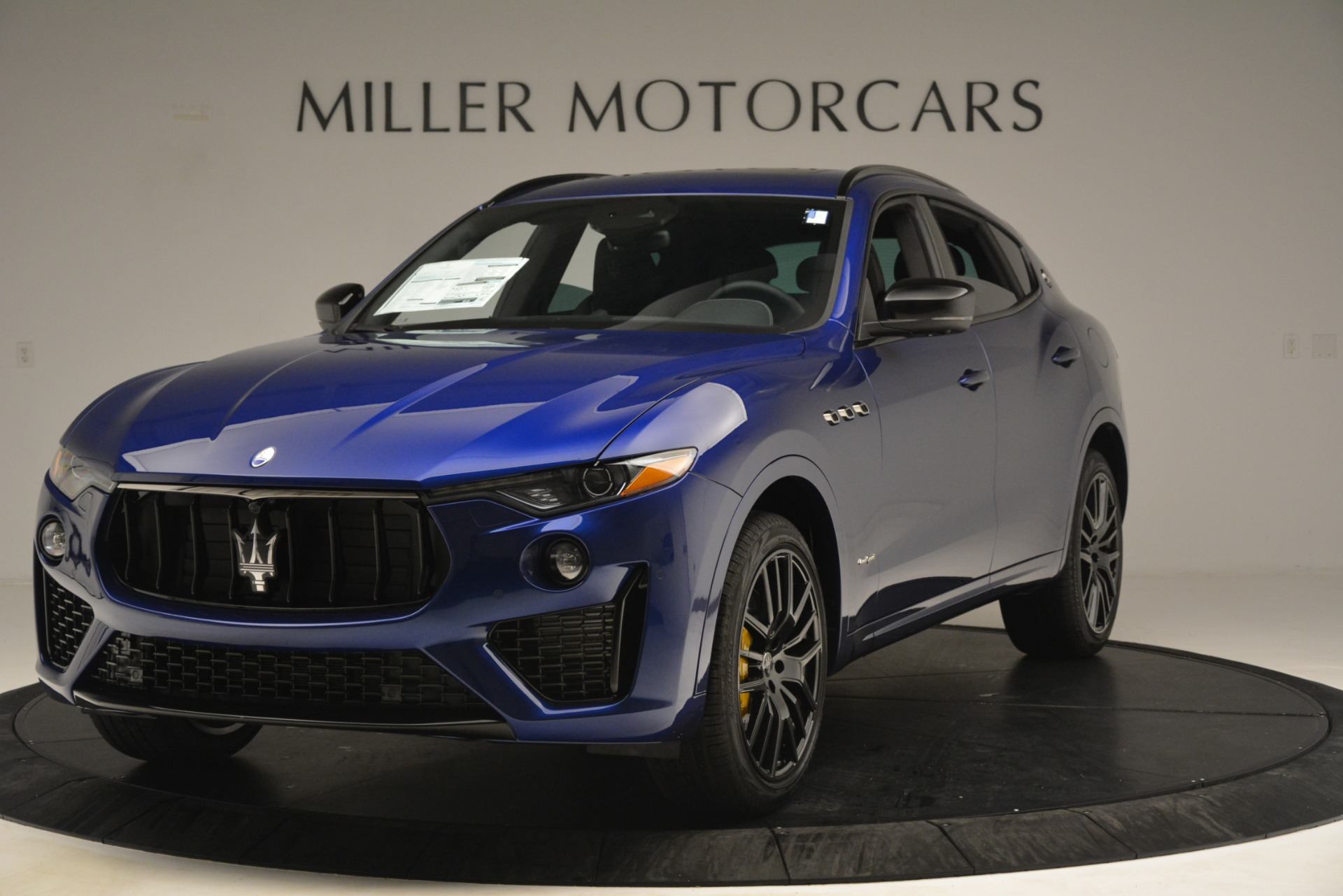 New 2019 Maserati Levante SQ4 GranSport Nerissimo For Sale In Greenwich, CT 3179_main