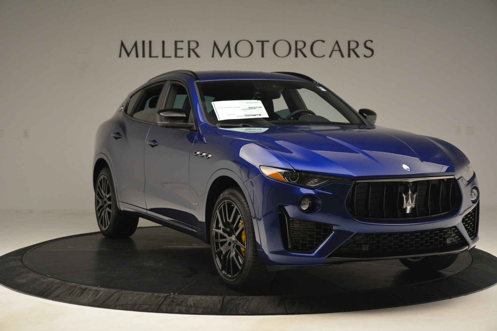 New 2019 Maserati Levante SQ4 GranSport Nerissimo For Sale In Greenwich, CT 3179_p11