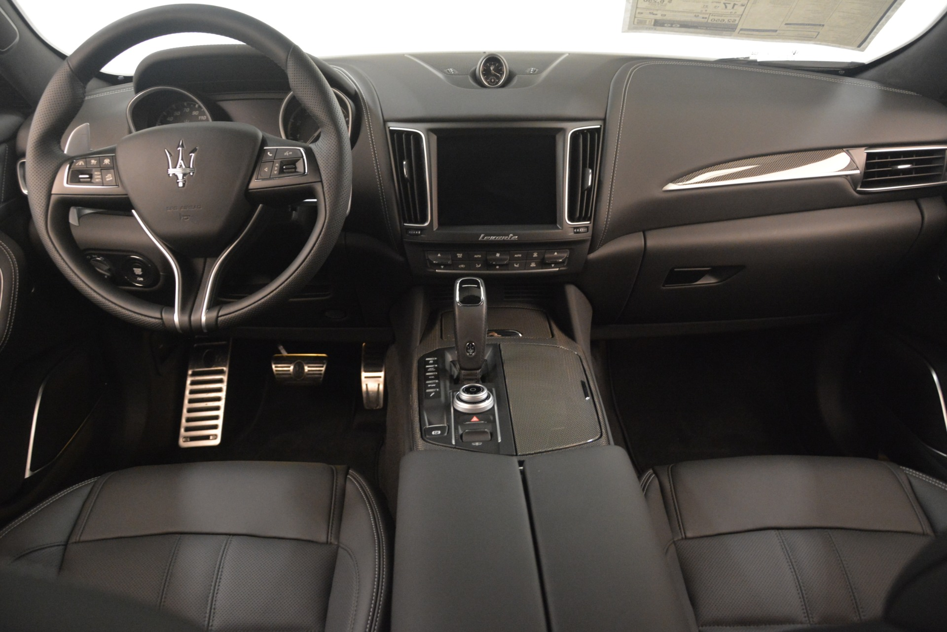 New 2019 Maserati Levante SQ4 GranSport Nerissimo For Sale In Greenwich, CT 3179_p16