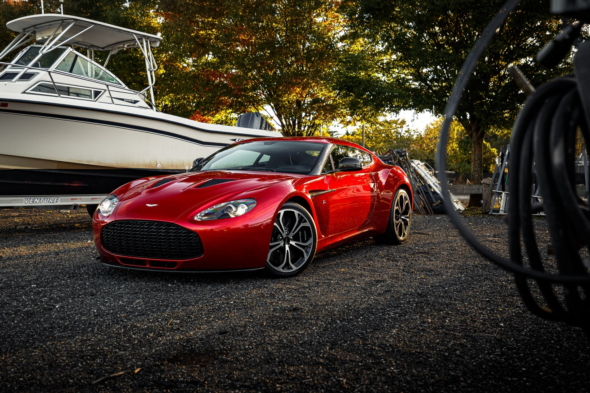 Used 2013 Aston Martin V12 Zagato Coupe For Sale In Greenwich, CT 3181_p30
