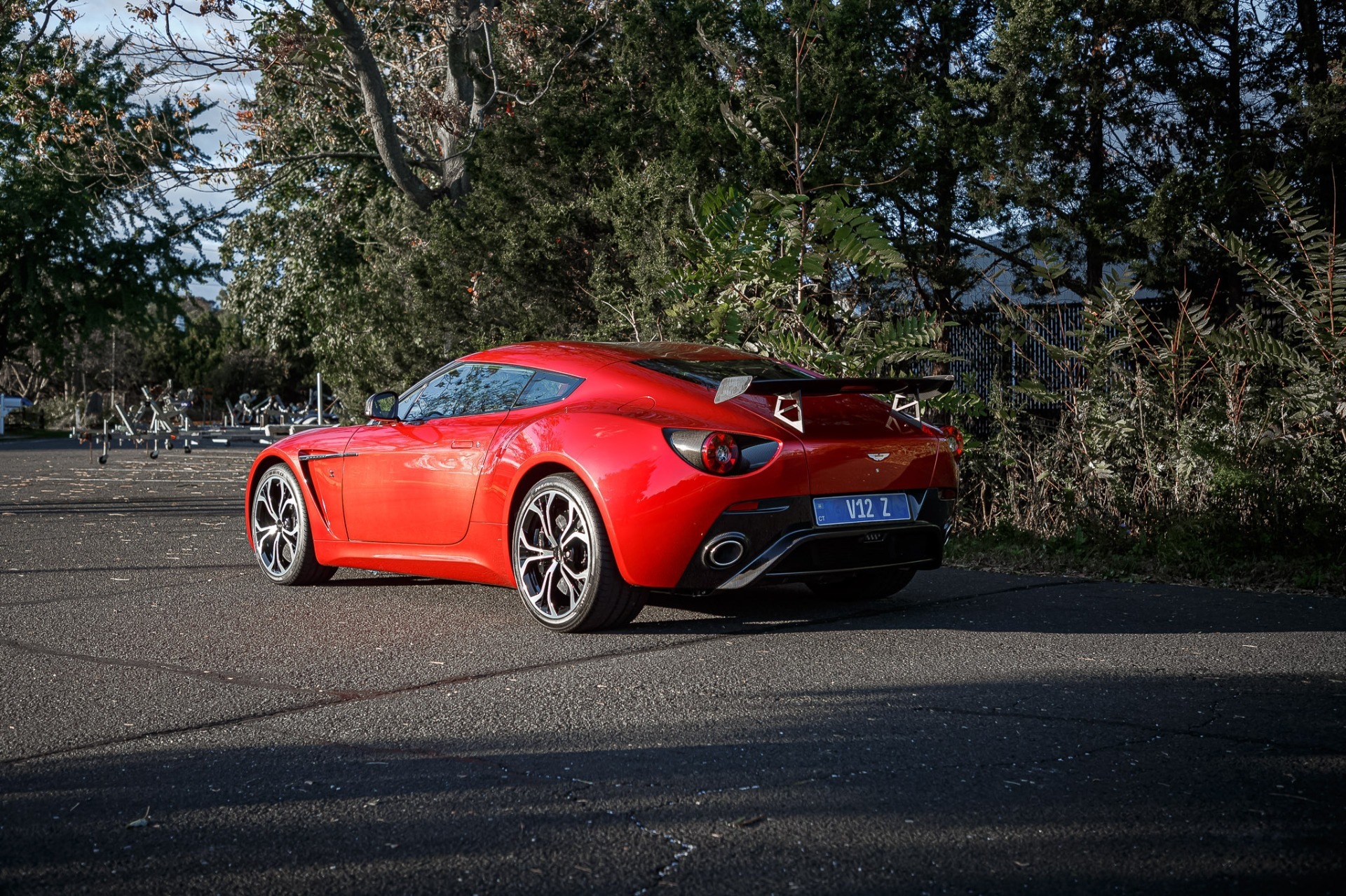 Used 2013 Aston Martin V12 Zagato Coupe For Sale In Greenwich, CT 3181_p34