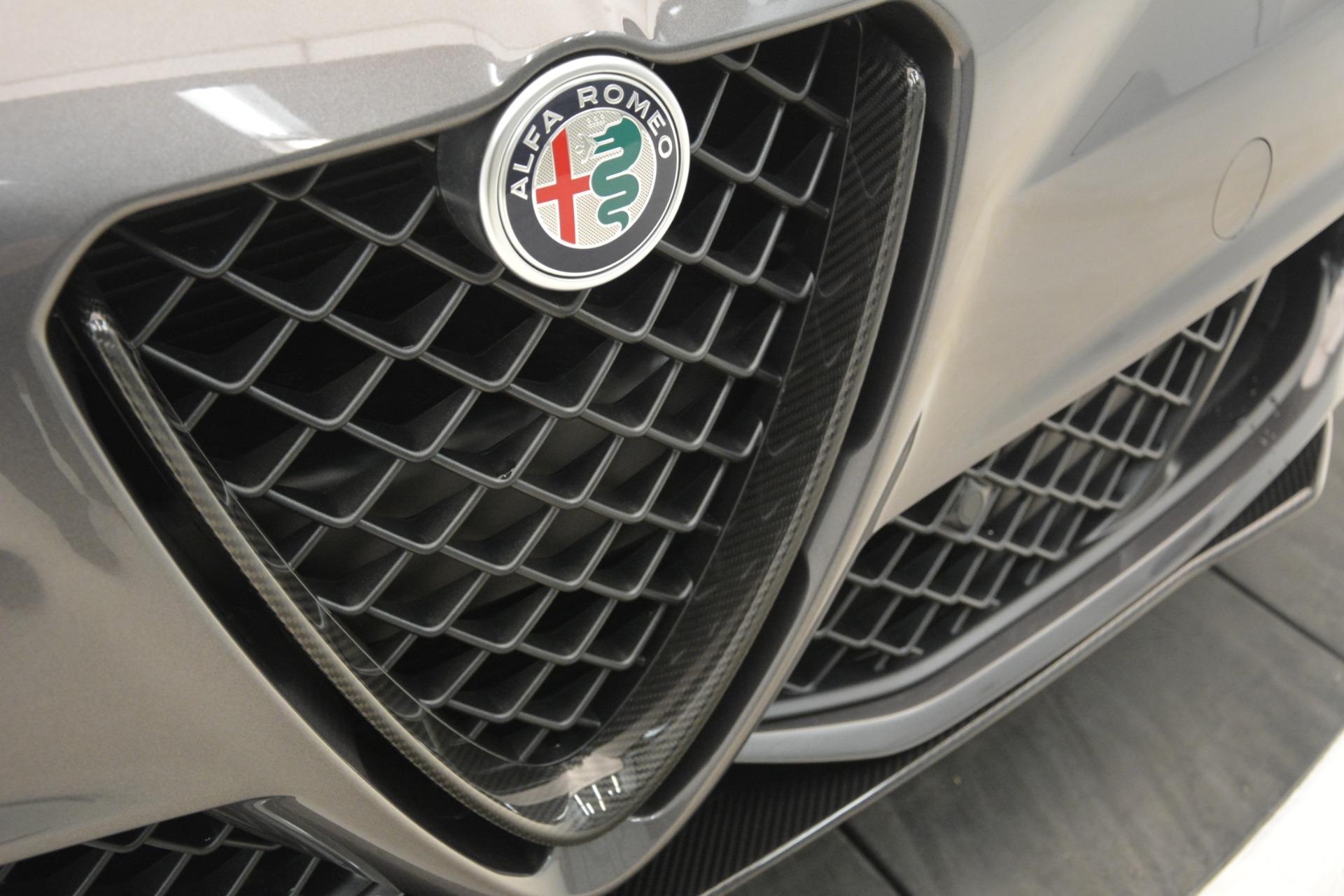 New 2019 Alfa Romeo Giulia Quadrifoglio For Sale In Greenwich, CT 3193_p41
