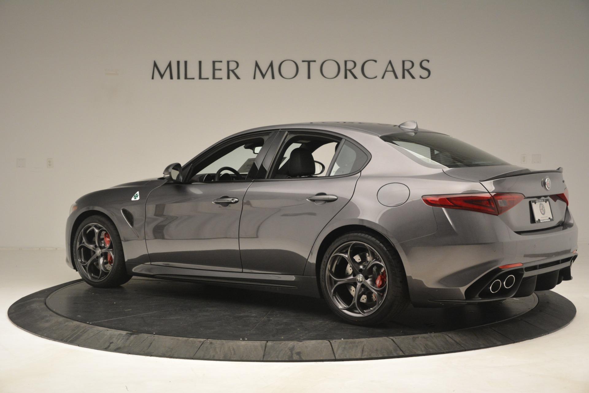 New 2019 Alfa Romeo Giulia Quadrifoglio For Sale In Greenwich, CT 3193_p4