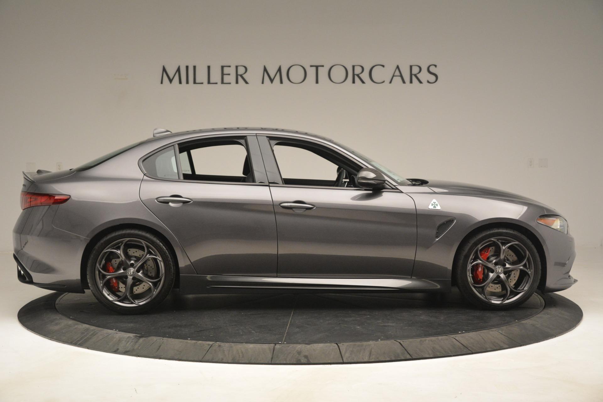 New 2019 Alfa Romeo Giulia Quadrifoglio For Sale In Greenwich, CT 3193_p9