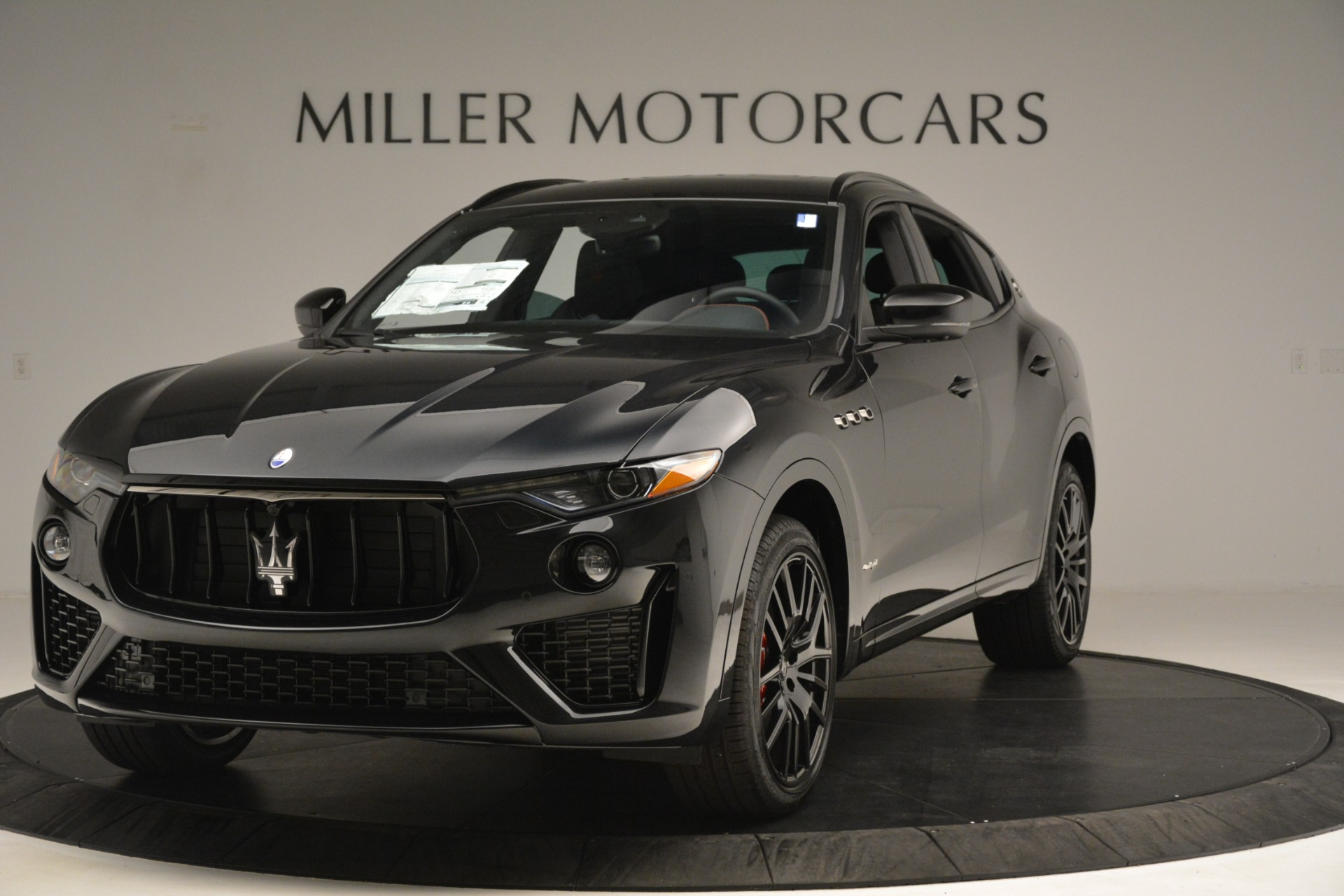 New 2019 Maserati Levante SQ4 GranSport Nerissimo For Sale In Greenwich, CT 3199_main