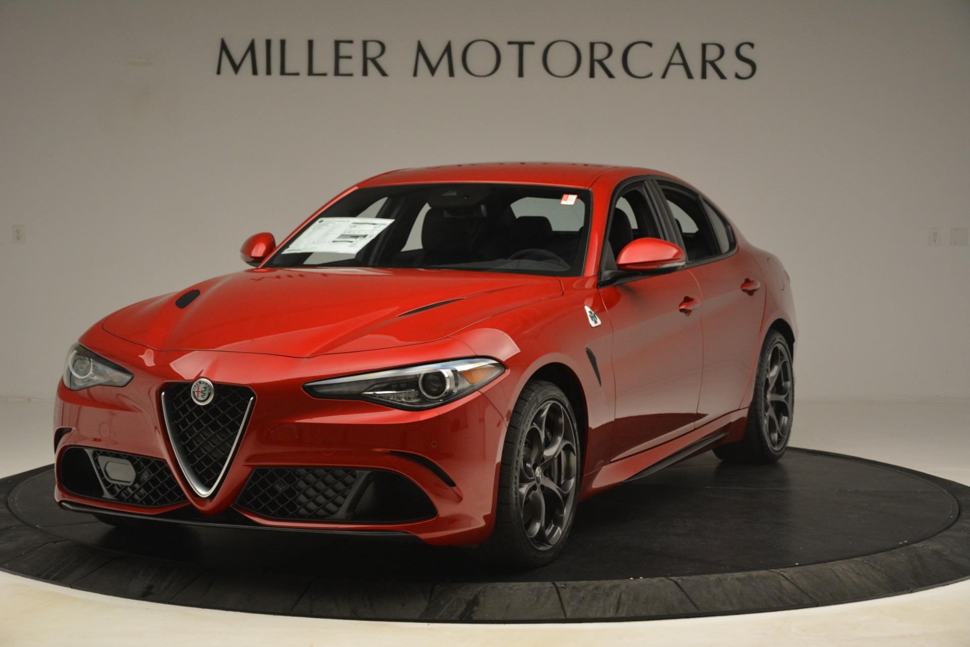 New 2019 Alfa Romeo Giulia Quadrifoglio For Sale In Greenwich, CT 3208_main