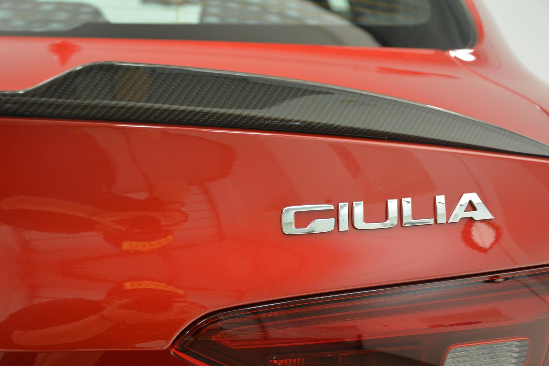 New 2019 Alfa Romeo Giulia Quadrifoglio For Sale In Greenwich, CT 3208_p32
