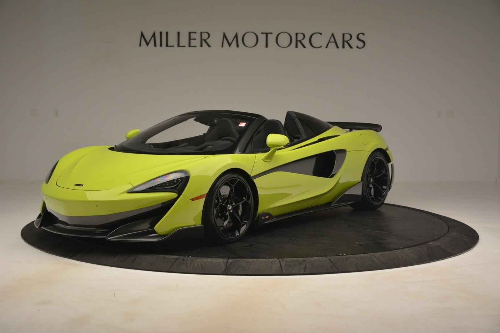 New 2020 McLaren 600LT SPIDER Convertible For Sale In Greenwich, CT 3213_main