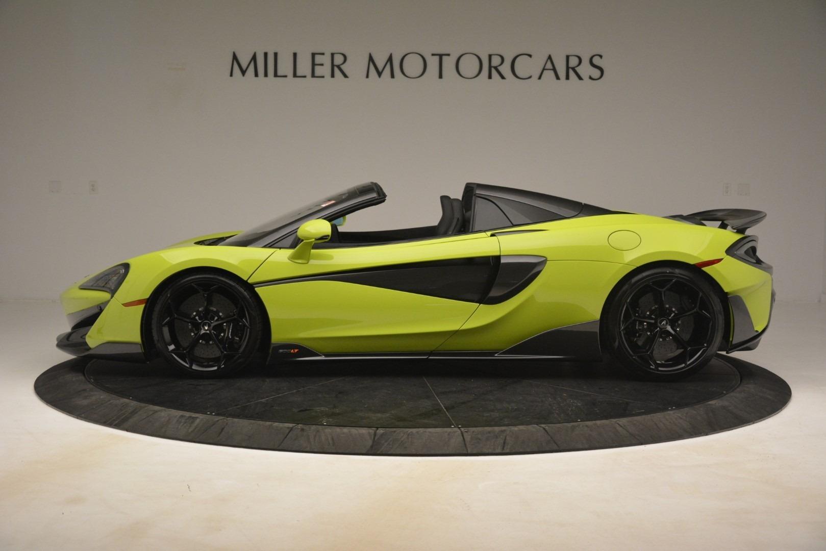 New 2020 McLaren 600LT SPIDER Convertible For Sale In Greenwich, CT 3213_p10