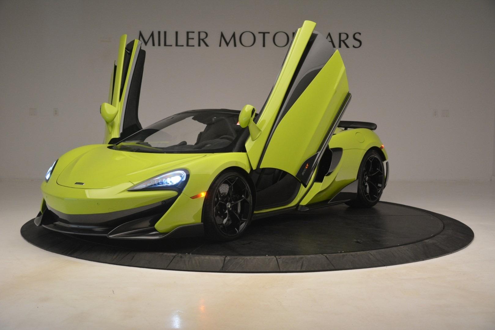 New 2020 McLaren 600LT SPIDER Convertible For Sale In Greenwich, CT 3213_p18