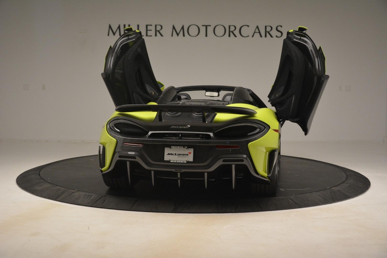 New 2020 McLaren 600LT SPIDER Convertible For Sale In Greenwich, CT 3213_p22