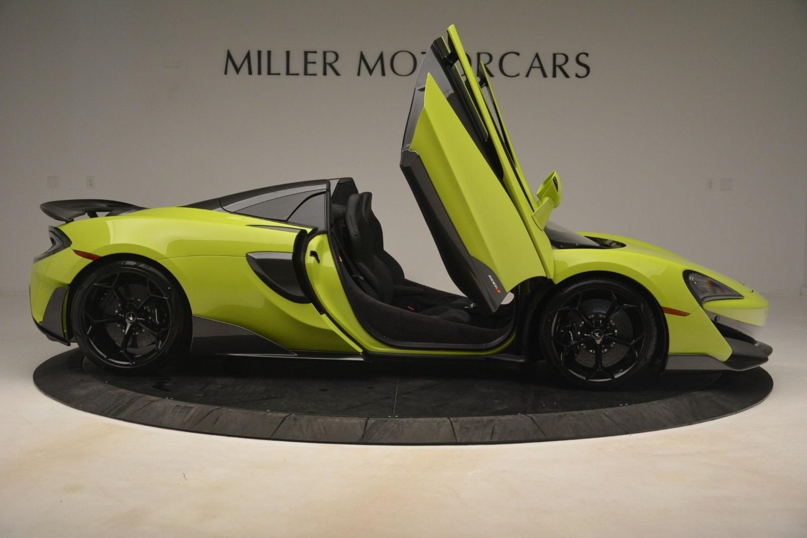 New 2020 McLaren 600LT SPIDER Convertible For Sale In Greenwich, CT 3213_p24