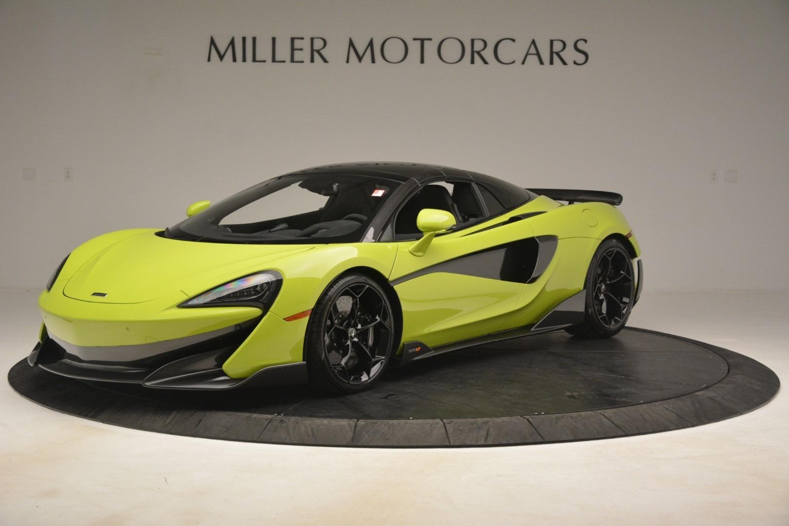 New 2020 McLaren 600LT SPIDER Convertible For Sale In Greenwich, CT 3213_p2