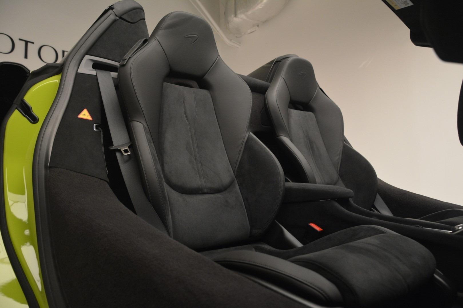 New 2020 McLaren 600LT Spider Convertible For Sale In Greenwich, CT 3213_p34