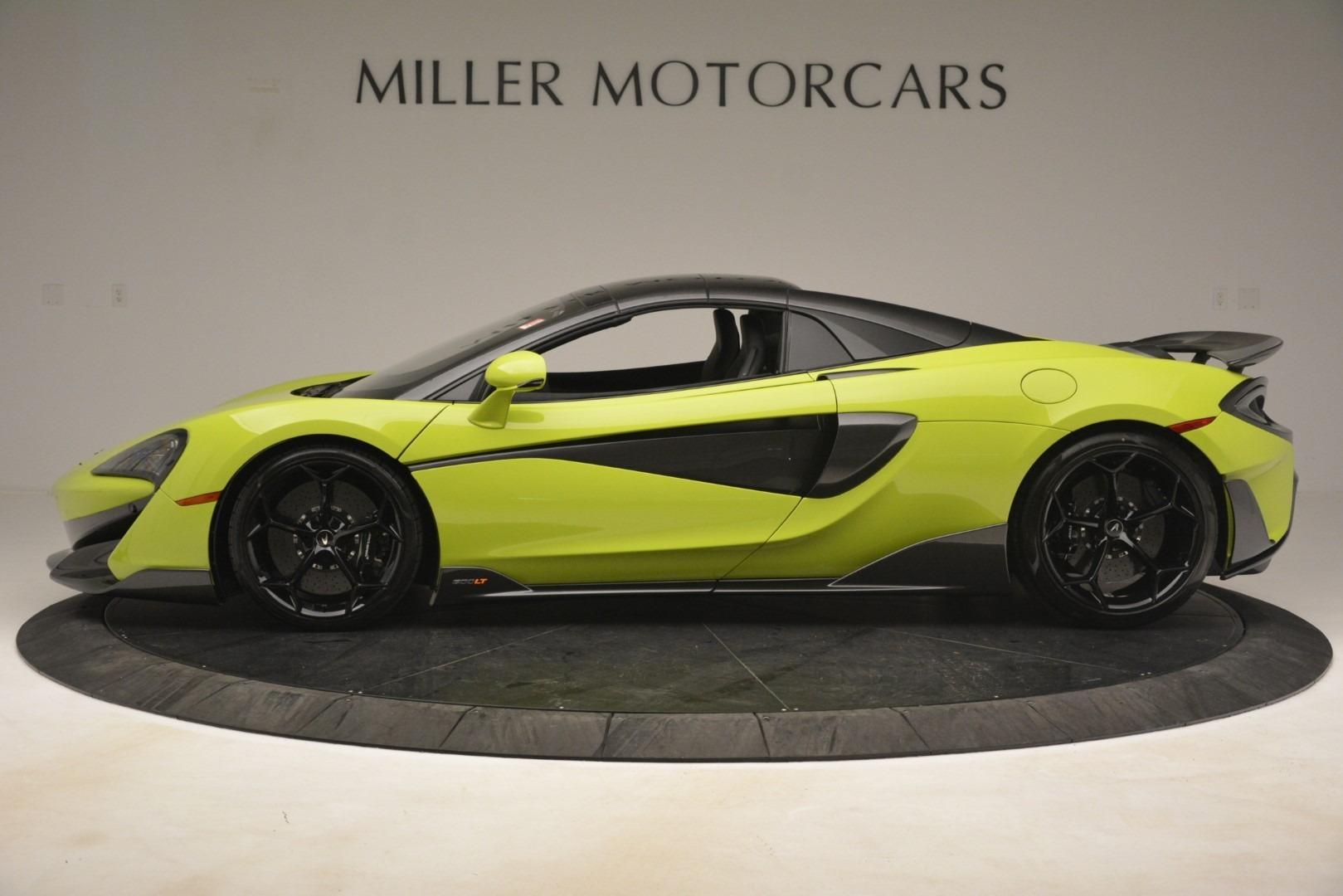 New 2020 McLaren 600LT SPIDER Convertible For Sale In Greenwich, CT 3213_p3