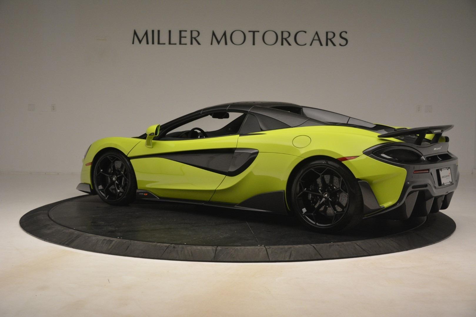 New 2020 McLaren 600LT SPIDER Convertible For Sale In Greenwich, CT 3213_p4