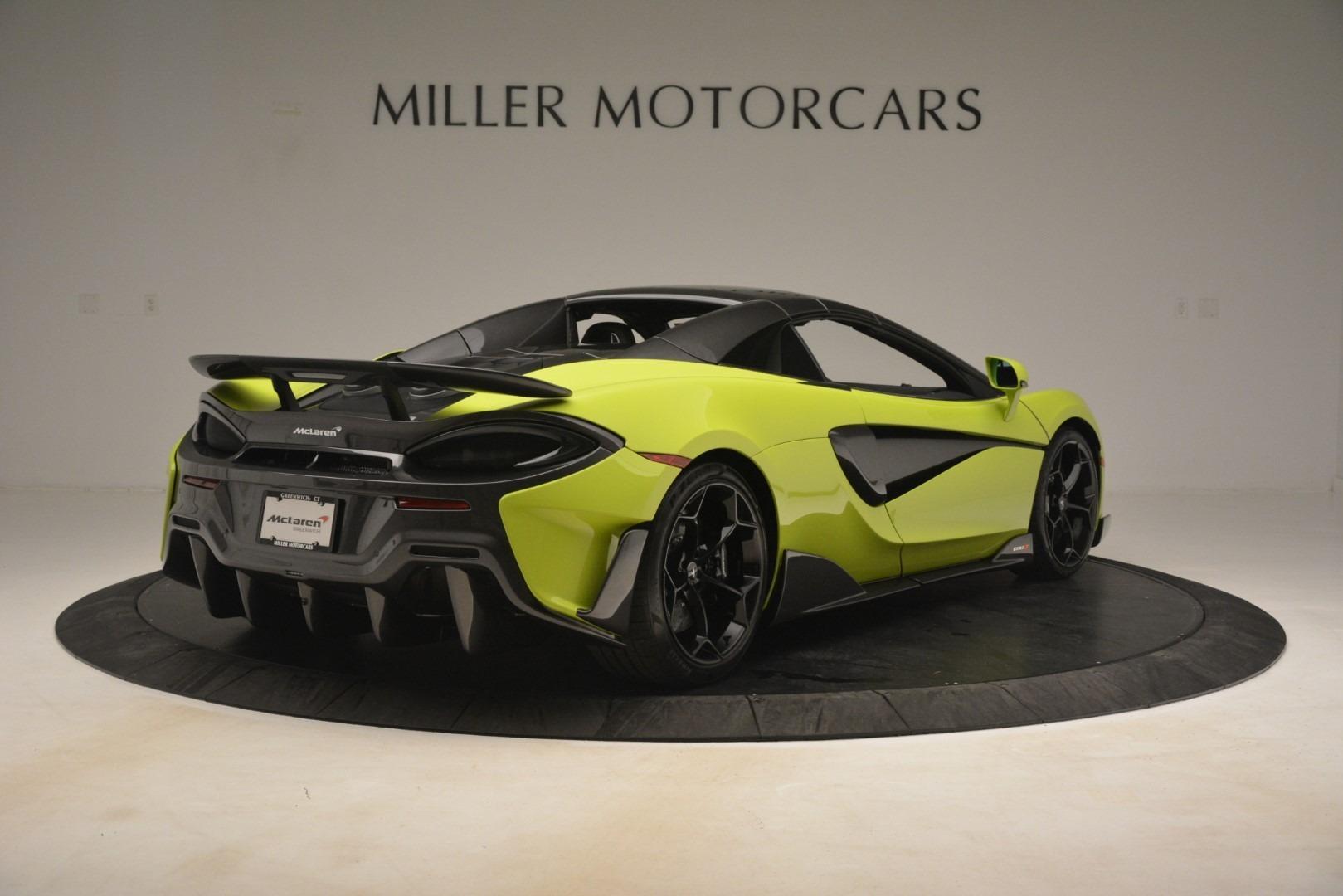 New 2020 McLaren 600LT Spider Convertible For Sale In Greenwich, CT 3213_p6
