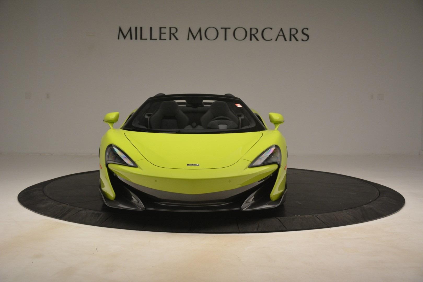 New 2020 McLaren 600LT SPIDER Convertible For Sale In Greenwich, CT 3213_p9
