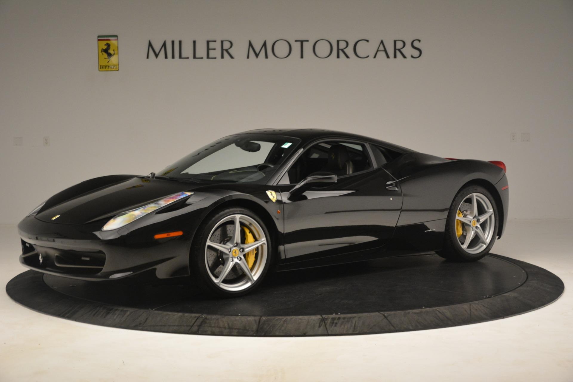 Used 2011 Ferrari 458 Italia  For Sale In Greenwich, CT 3236_p2