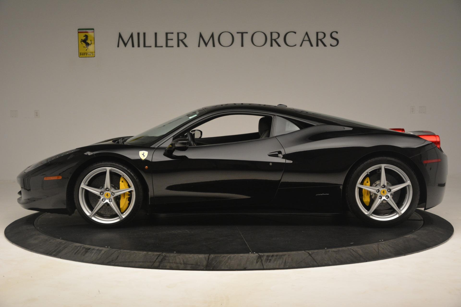 Used 2011 Ferrari 458 Italia  For Sale In Greenwich, CT 3236_p3