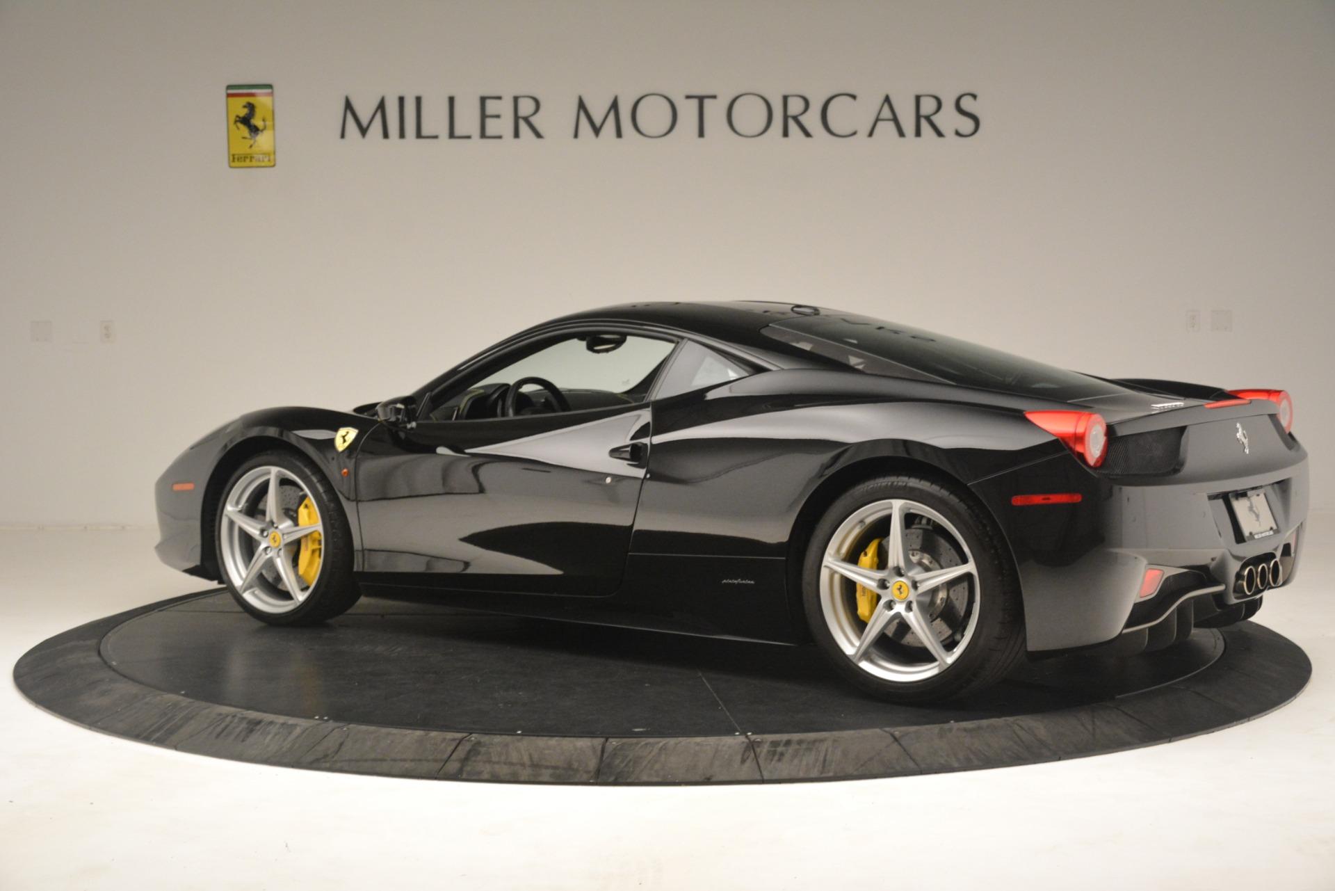Used 2011 Ferrari 458 Italia  For Sale In Greenwich, CT 3236_p4
