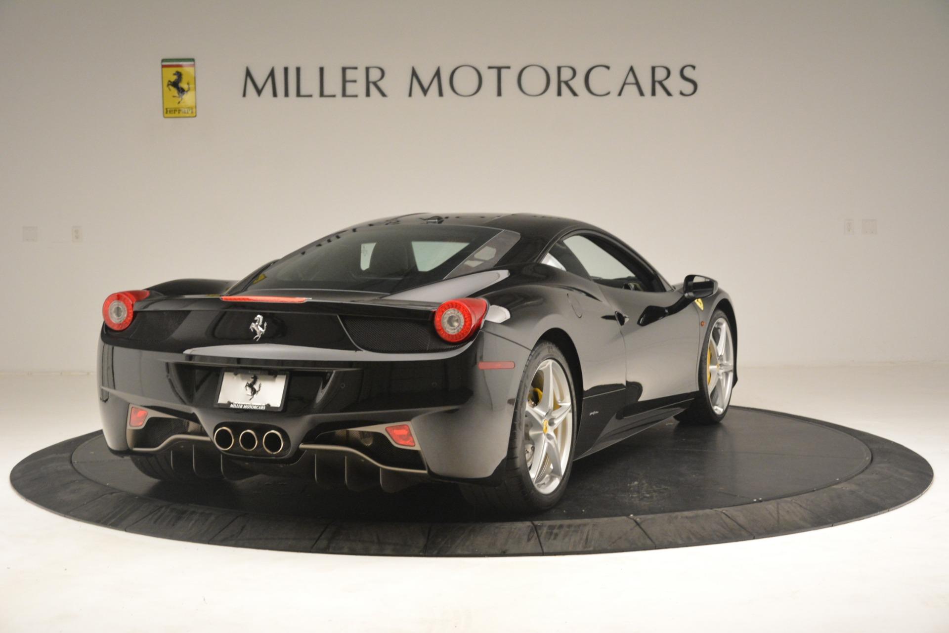 Used 2011 Ferrari 458 Italia  For Sale In Greenwich, CT 3236_p7