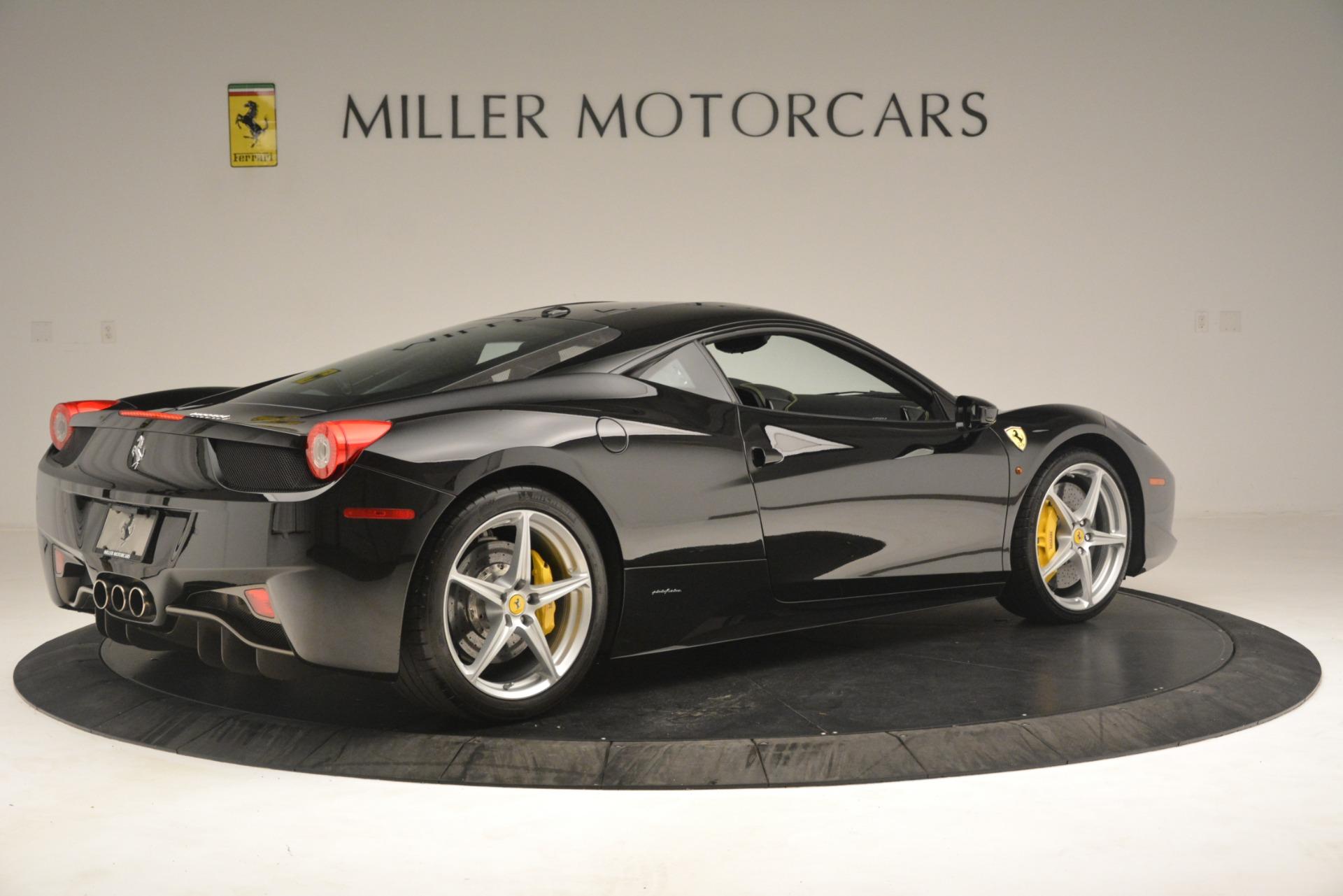 Used 2011 Ferrari 458 Italia  For Sale In Greenwich, CT 3236_p8
