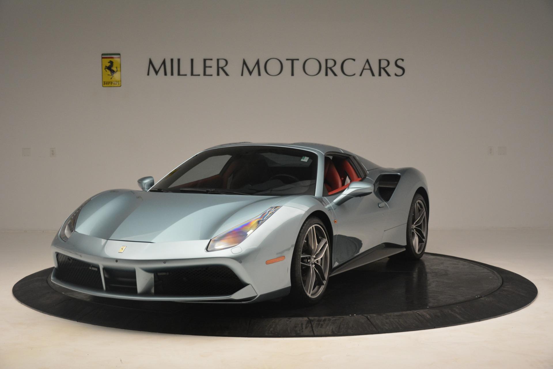 Used 2017 Ferrari 488 Spider  For Sale In Greenwich, CT 3237_p13