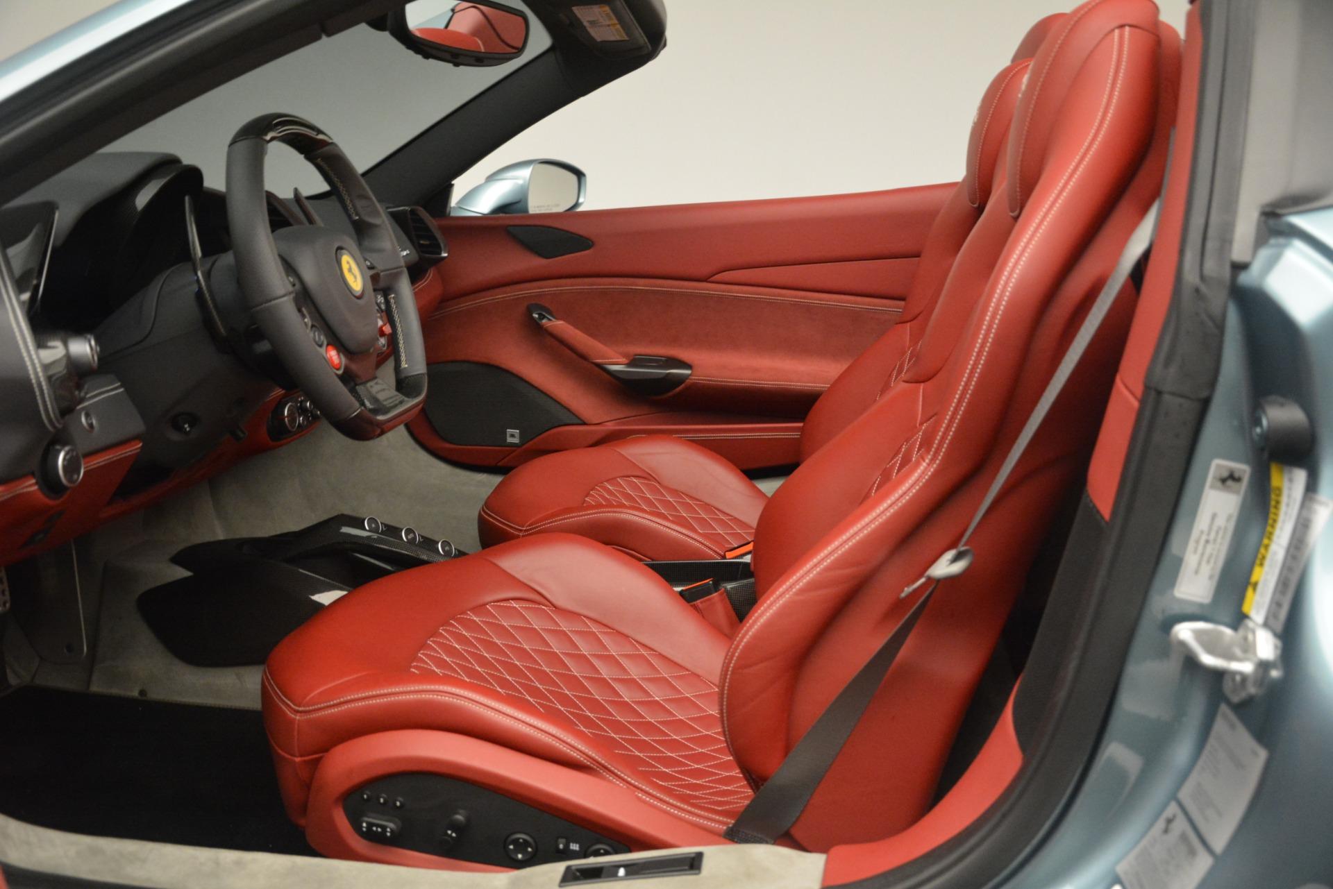 Used 2017 Ferrari 488 Spider  For Sale In Greenwich, CT 3237_p19