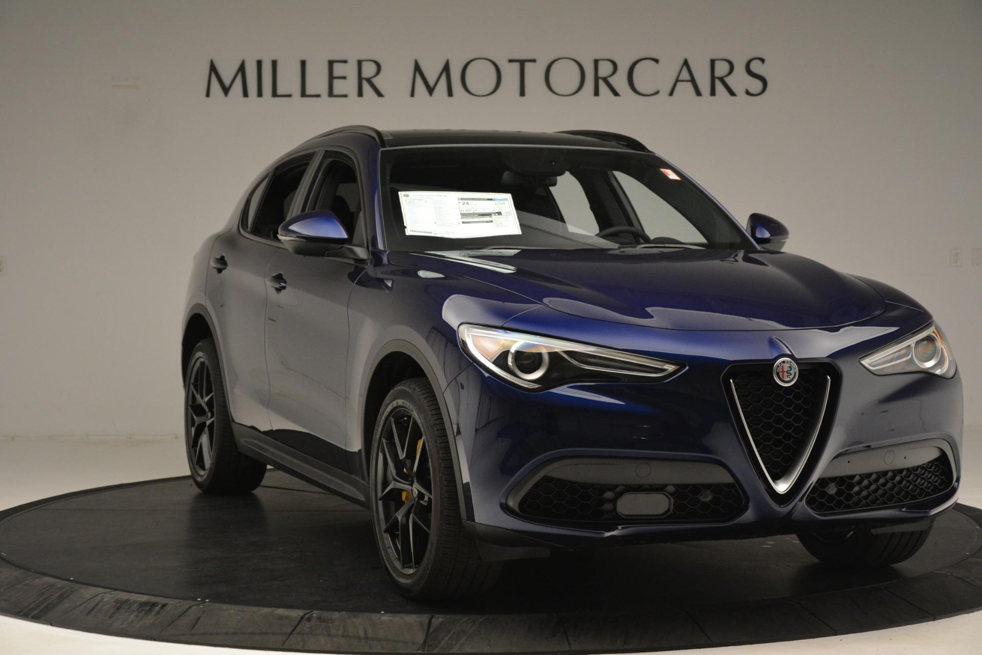 New 2019 Alfa Romeo Stelvio Ti Sport Q4 For Sale In Greenwich, CT 3249_p11