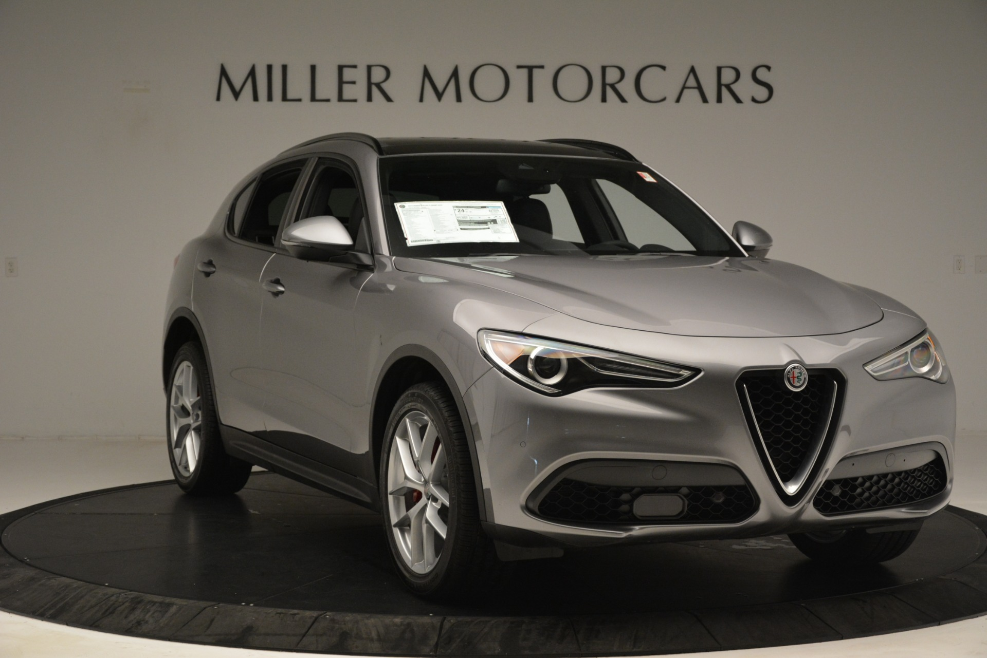 New 2019 Alfa Romeo Stelvio Ti Sport Q4 For Sale In Greenwich, CT 3250_p11