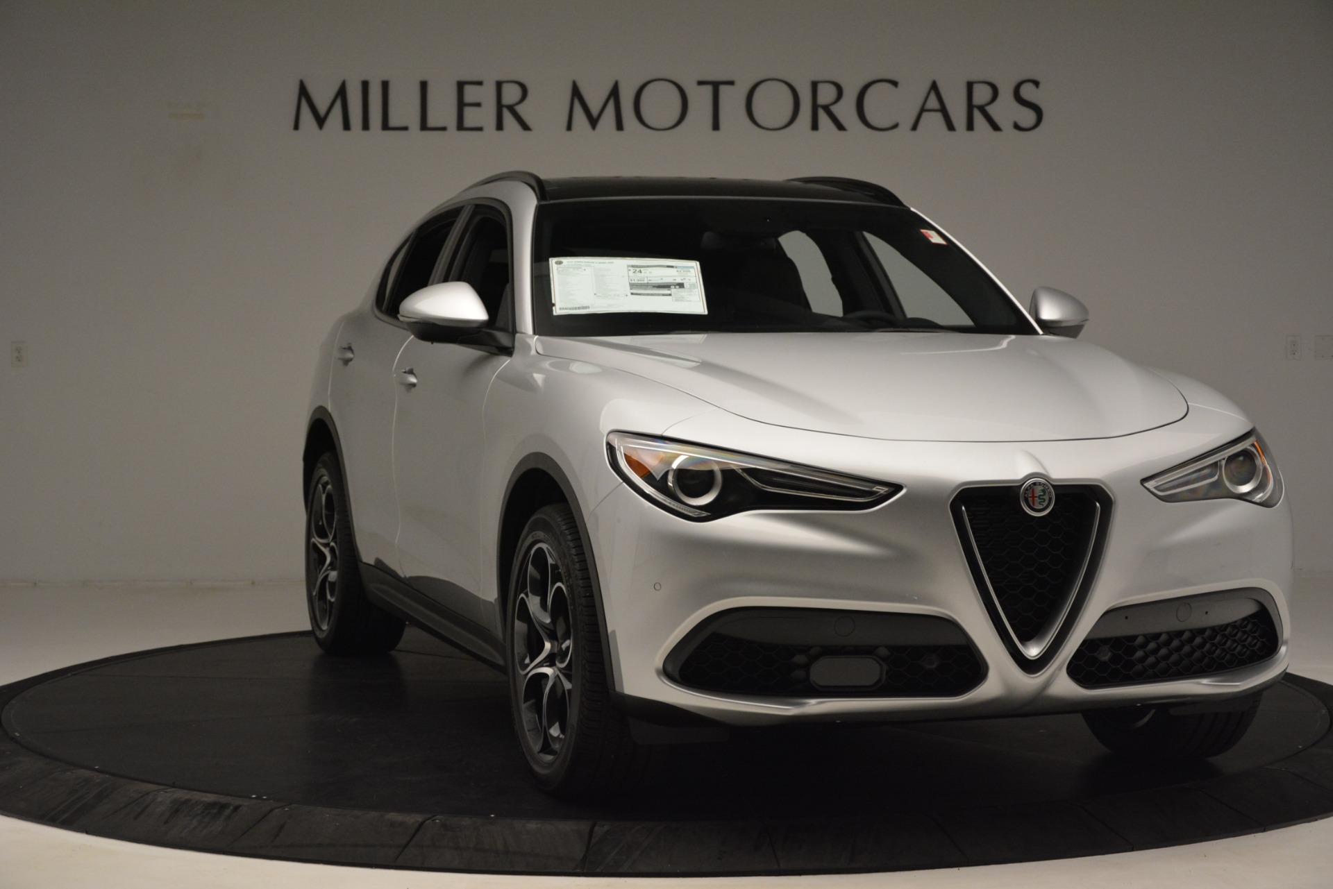 New 2019 Alfa Romeo Stelvio Ti Sport Q4 For Sale In Greenwich, CT 3261_p11