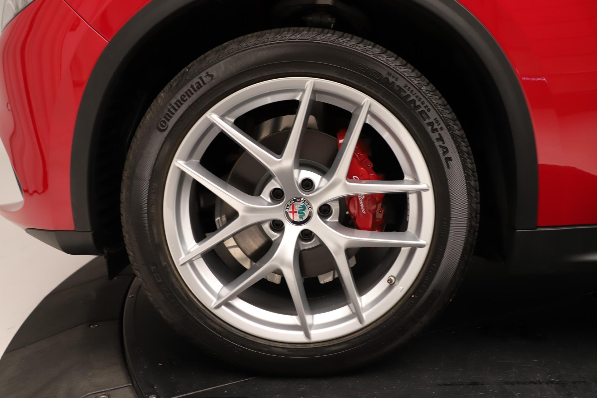 New 2019 Alfa Romeo Stelvio Ti Sport Q4 For Sale In Greenwich, CT 3262_p30