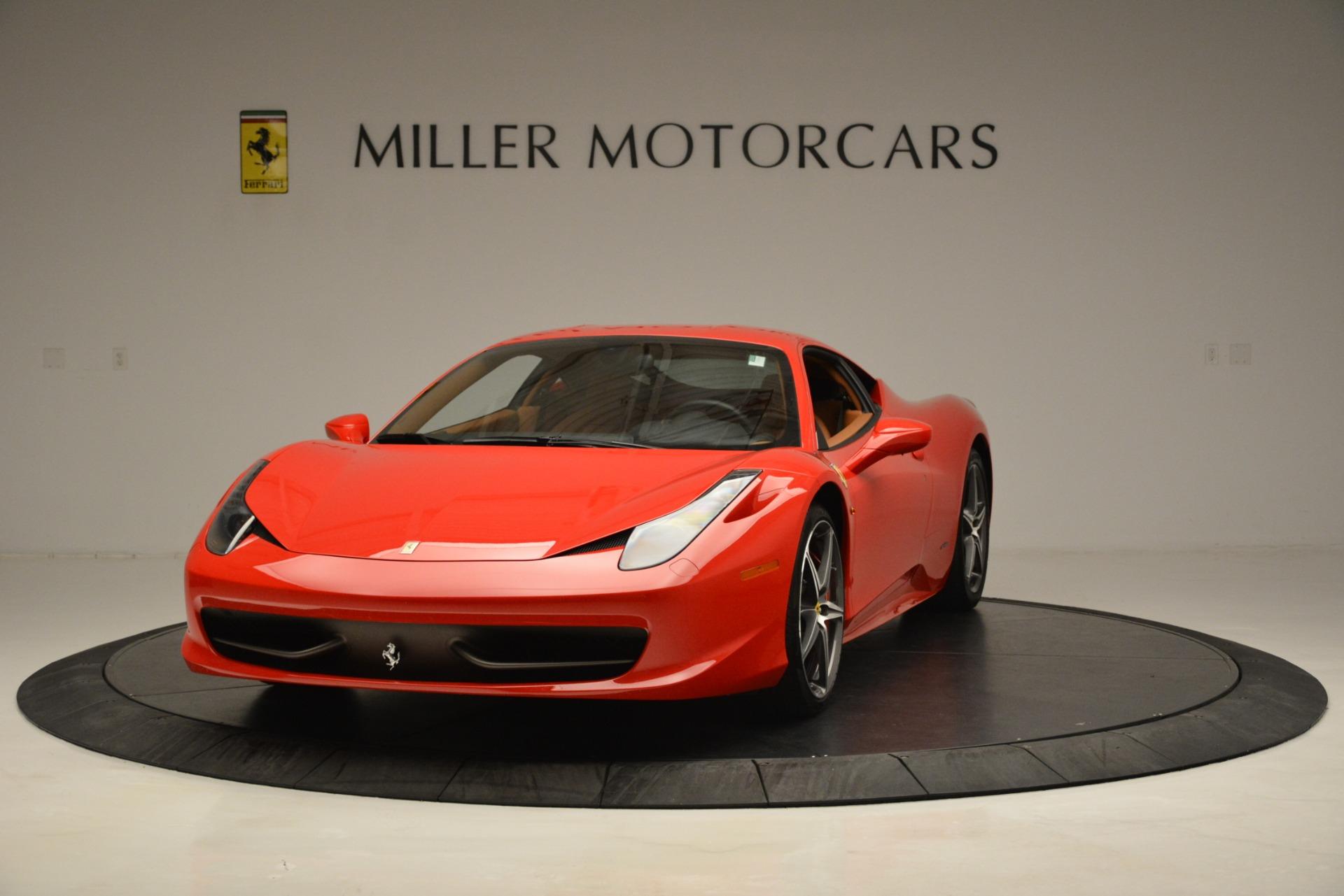 Used 2014 Ferrari 458 Italia  For Sale In Greenwich, CT 3271_main