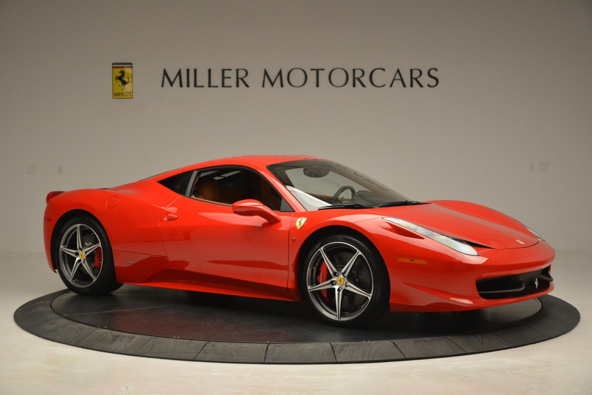 Used 2014 Ferrari 458 Italia  For Sale In Greenwich, CT 3271_p10