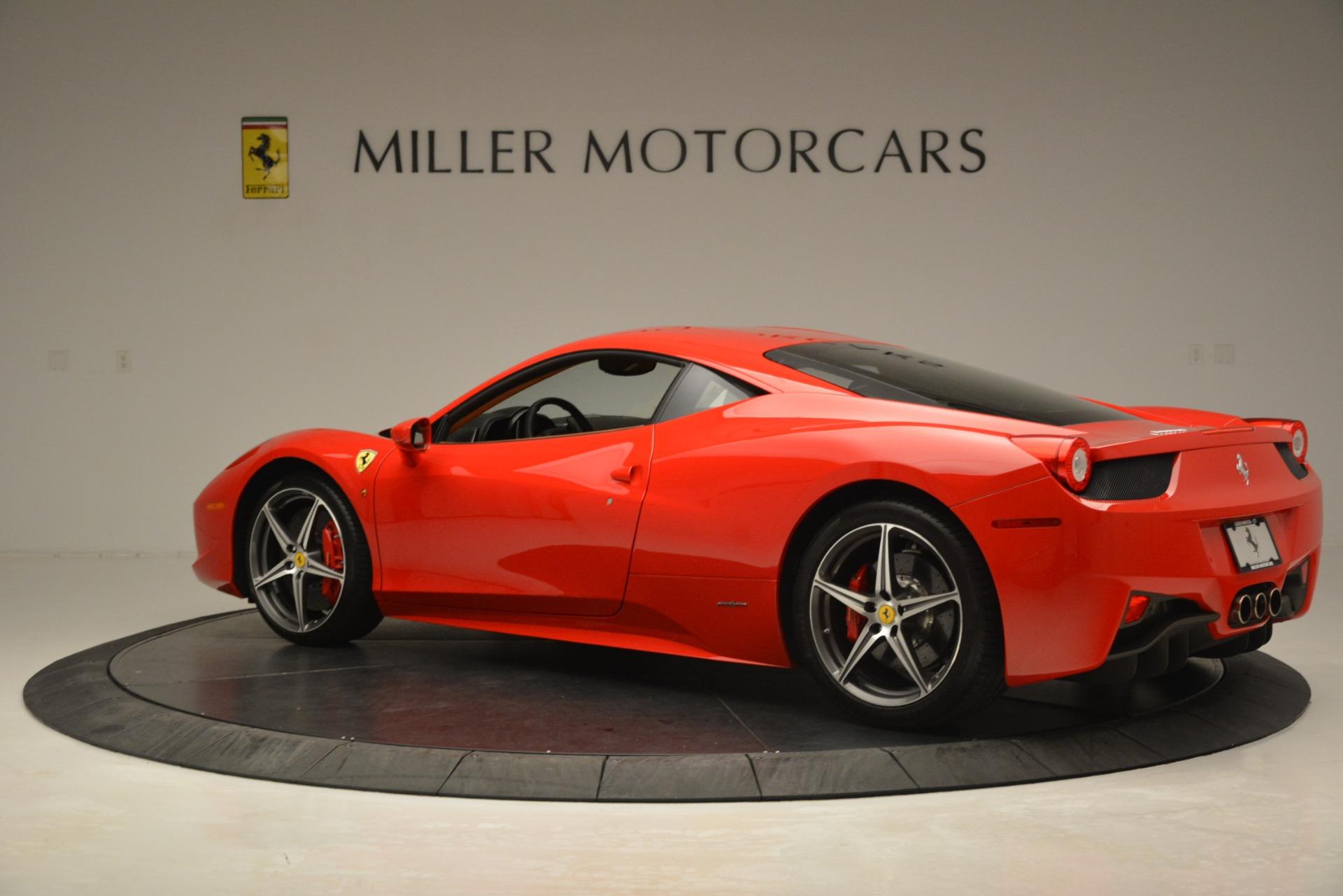 Used 2014 Ferrari 458 Italia  For Sale In Greenwich, CT 3271_p4