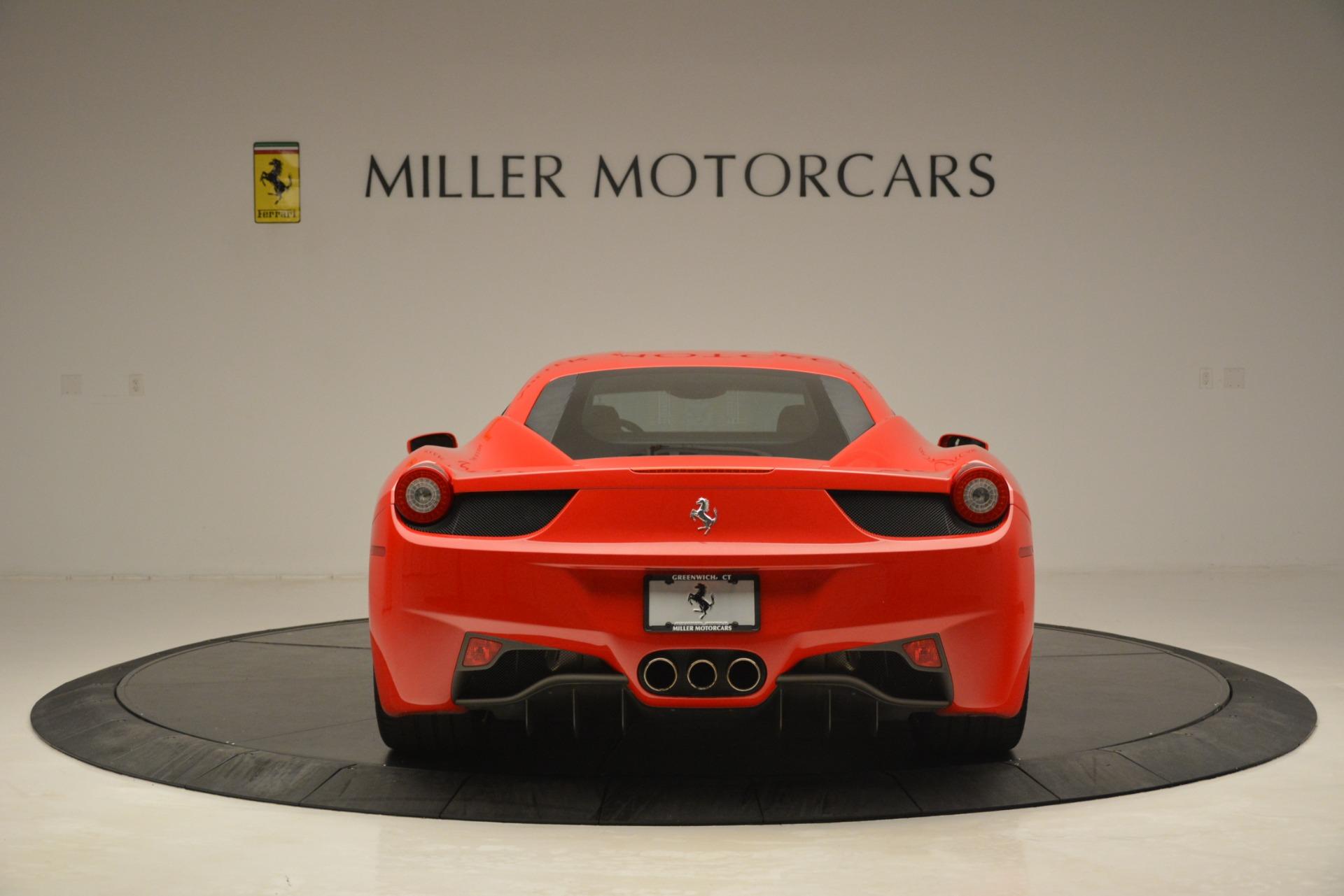 Used 2014 Ferrari 458 Italia  For Sale In Greenwich, CT 3271_p6