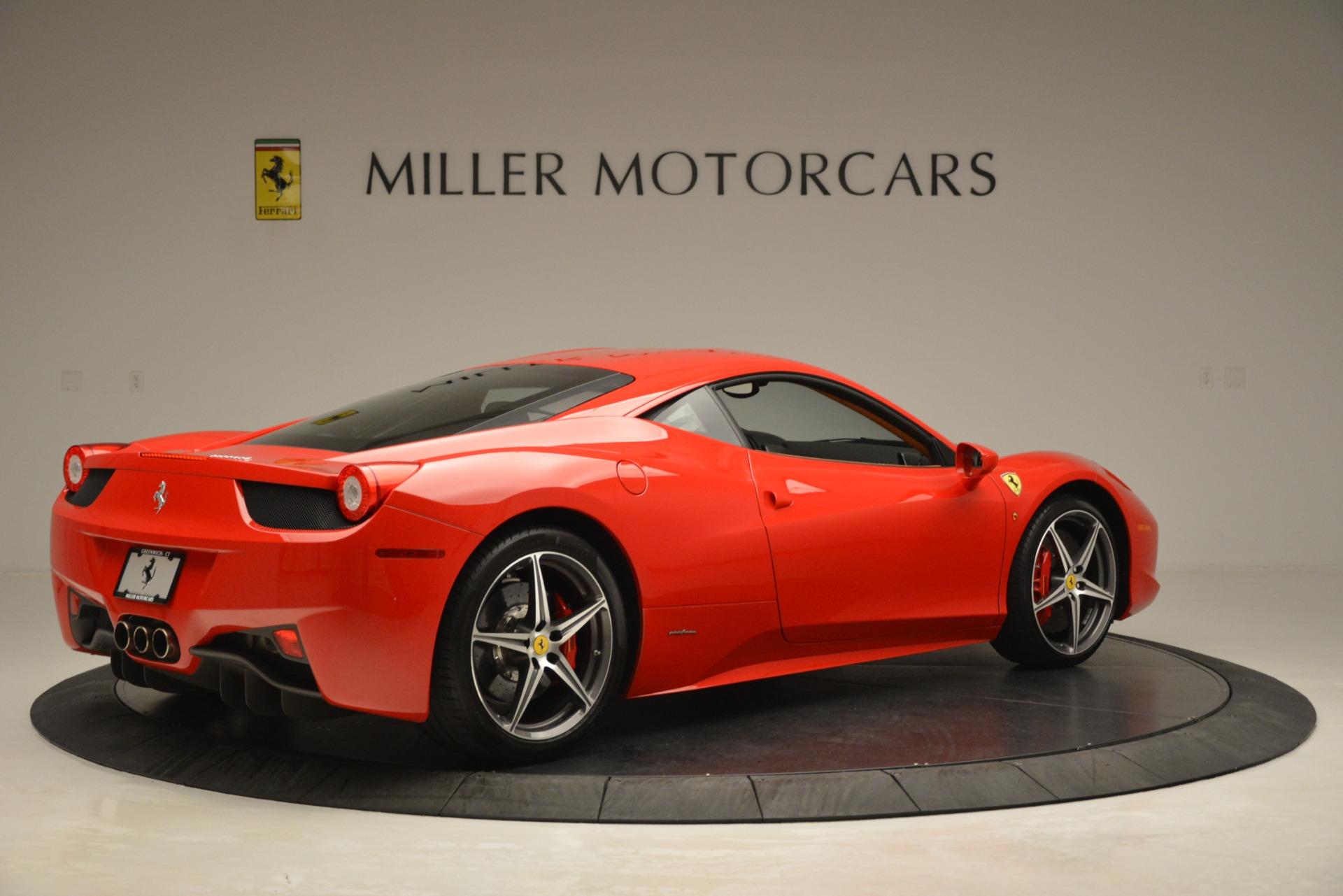 Used 2014 Ferrari 458 Italia  For Sale In Greenwich, CT 3271_p8