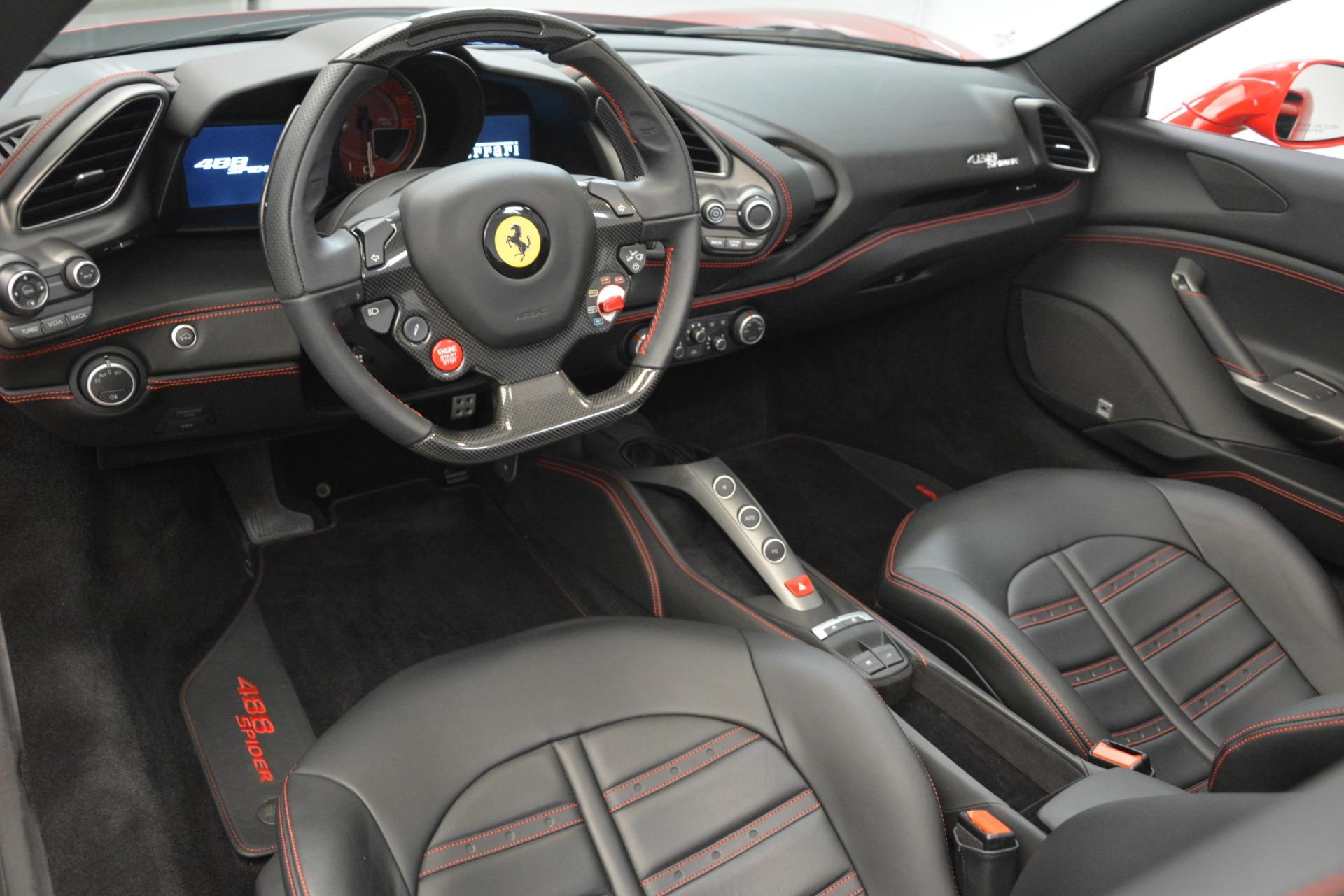 Used 2017 Ferrari 488 Spider  For Sale In Greenwich, CT 3296_p20
