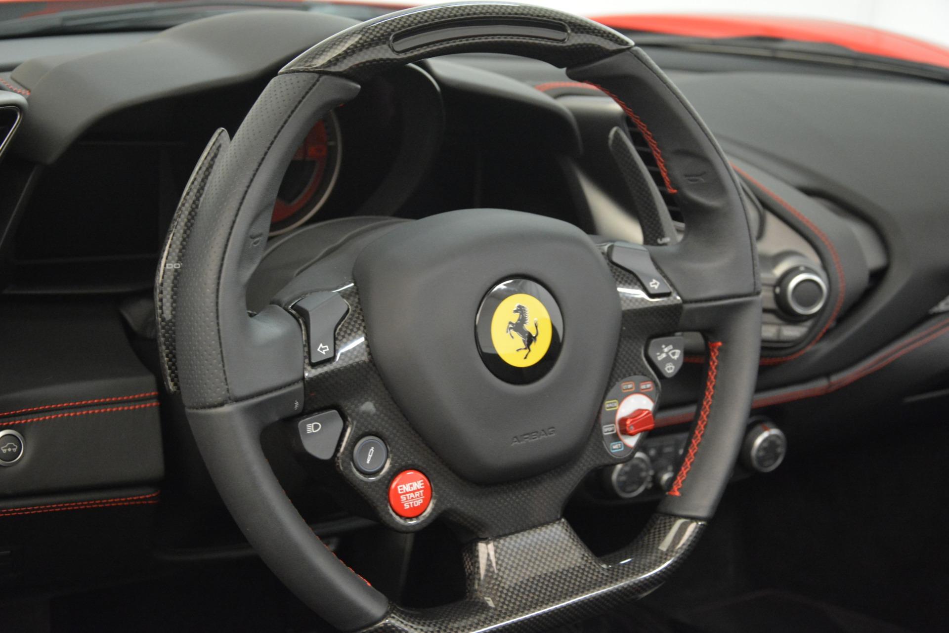 Used 2017 Ferrari 488 Spider  For Sale In Greenwich, CT 3296_p28