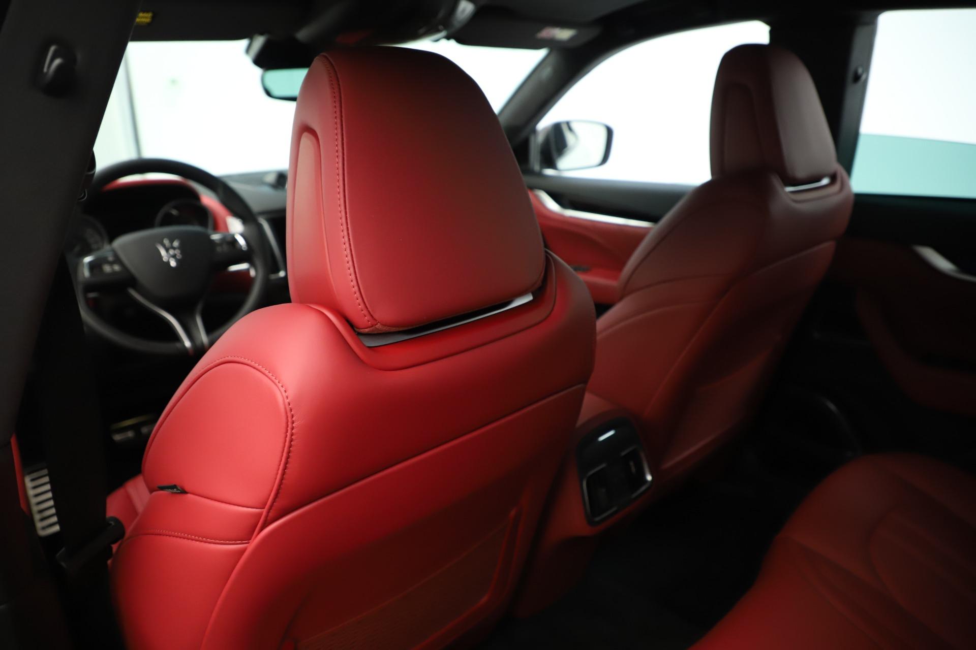 New 2019 Maserati Levante Q4 GranSport Nerissimo For Sale In Greenwich, CT 3300_p20