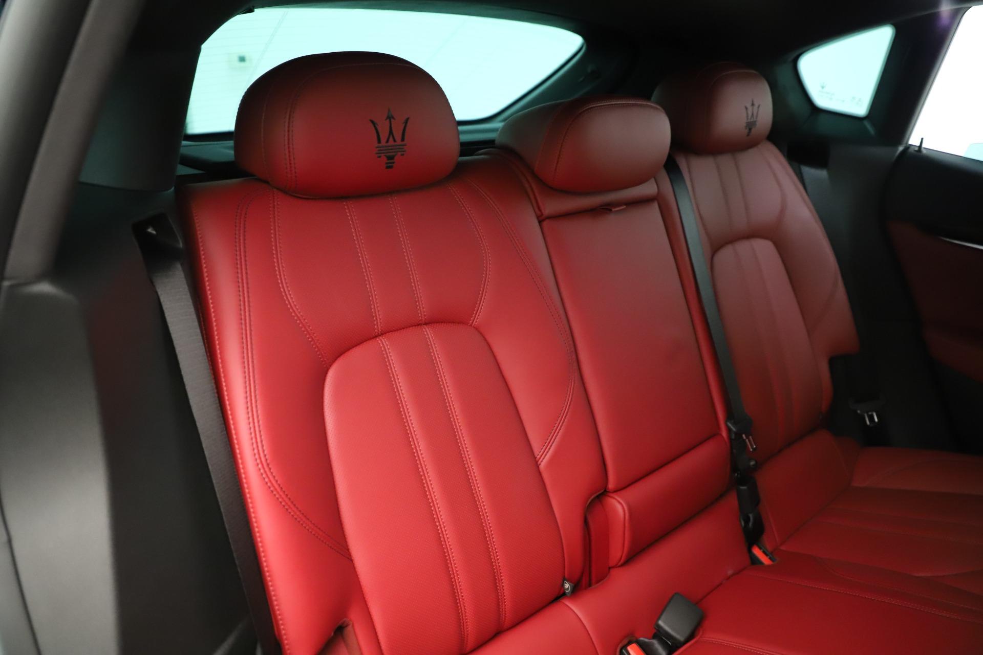 New 2019 Maserati Levante Q4 GranSport Nerissimo For Sale In Greenwich, CT 3300_p26