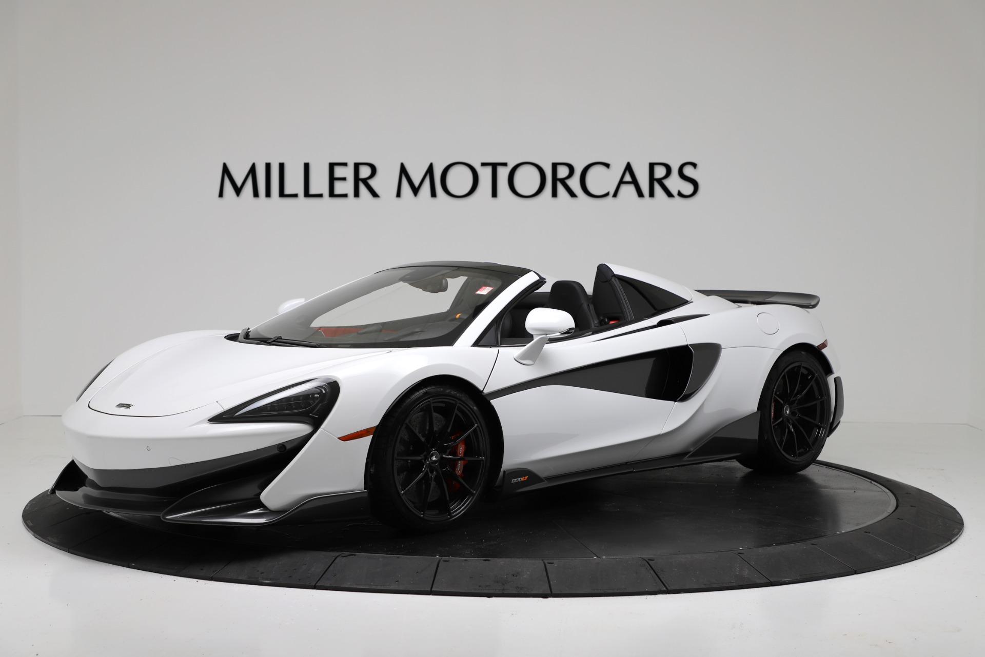 New 2020 McLaren 600LT Convertible For Sale In Greenwich, CT 3314_main