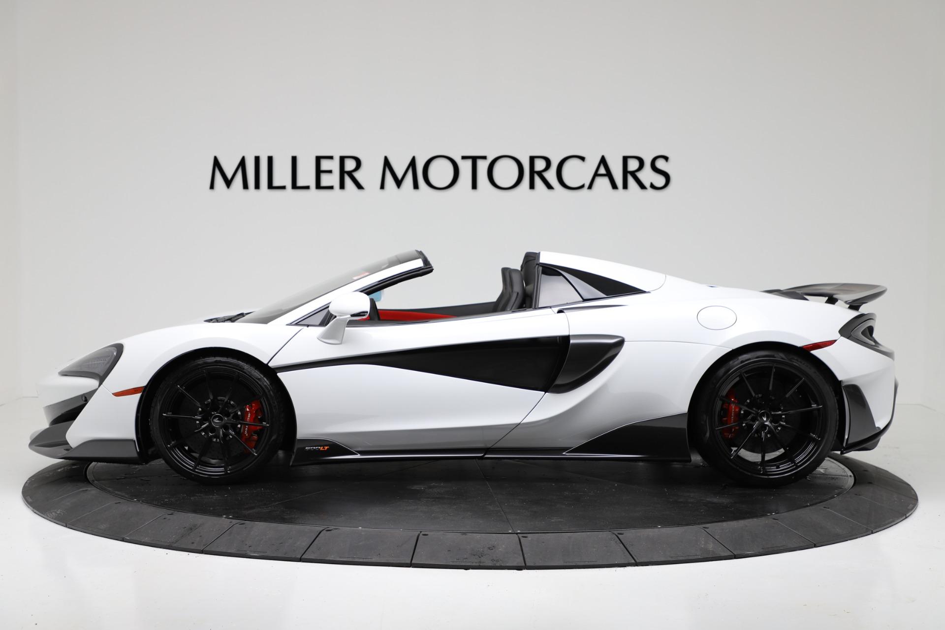New 2020 McLaren 600LT Convertible For Sale In Greenwich, CT 3314_p3