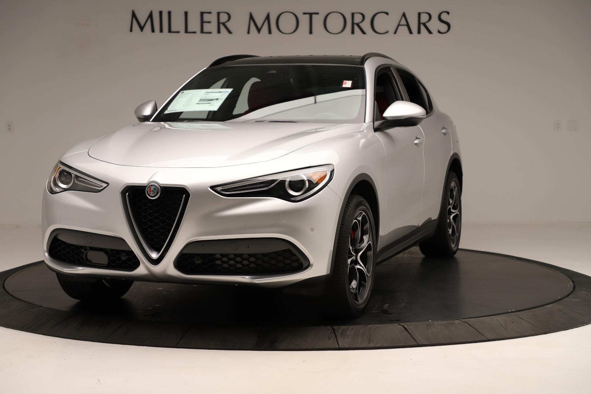 New 2019 Alfa Romeo Stelvio Ti Sport Q4 For Sale In Greenwich, CT 3323_main